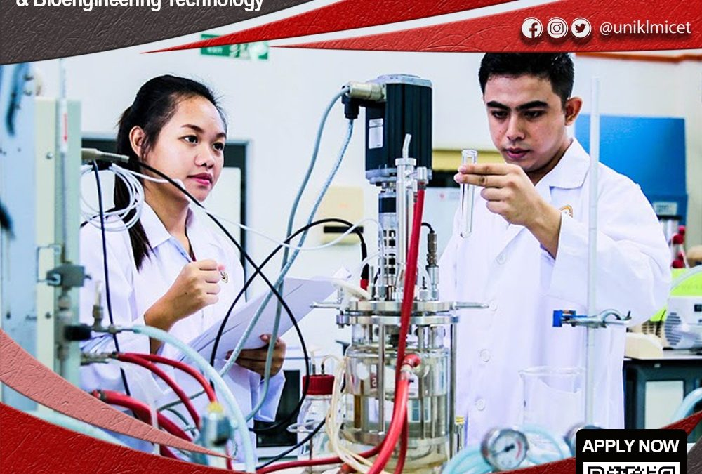 Diploma & Bachelor in Chemical Engineering Technology (Bioprocess)