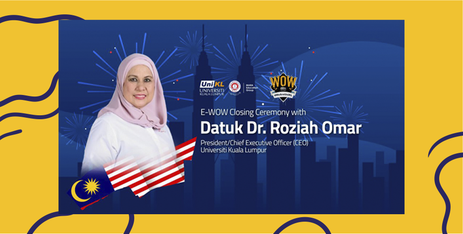 Welcoming & Orientation Week with UniKL's new president/CEO Datuk Dr. Roziah Omar