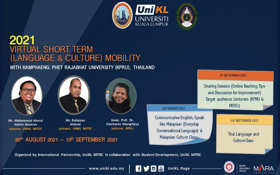Virtual Short Term (Language & Culture) Mobility