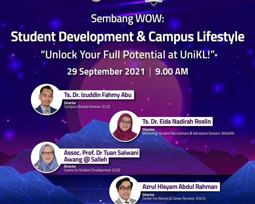 Sembang WOW: Unlock Your Full Potential at UniKL!